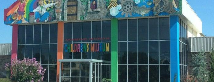Jasmine Moran Children's Museum is one of OKC Faves.
