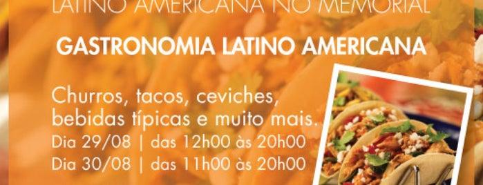 Feira Gastronômica Latino Americana No Memorial is one of Posti che sono piaciuti a Fabio.