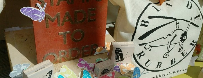 Blade Rubber Stamps Ltd. is one of London favs.