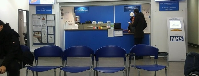 Soho Square General Practice is one of Places i've been to.