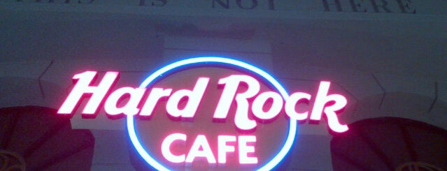 Hard Rock Cafe Cancún is one of Cancun.