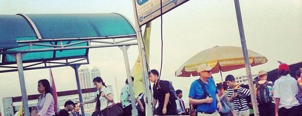 ท่าเรือวังหลัง (ศิริราช) Wang Lang (Siriraj) Pier N10 is one of การเดินทาง ( Travel ).