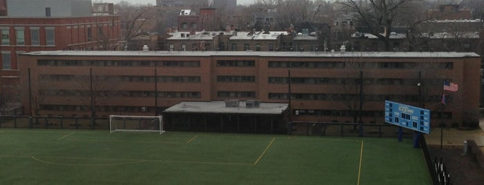 DePaul - Francis V. Corcoran Hall is one of Lincoln Park Campus History.