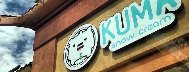 Kuma Snow Cream is one of Locais curtidos por smith.