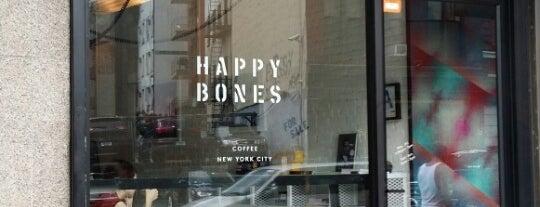 Happy Bones is one of The New Yorkers: Cafés.