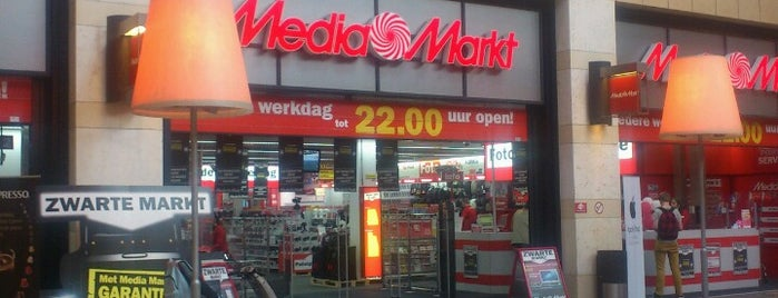 MediaMarkt is one of AMEX in Enschede.