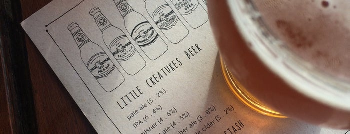 Little Creatures Brewery is one of Andre's Liked Places.