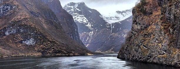 Nærøyfjorden is one of Norway :).