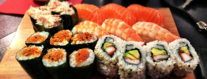 Sushi Sano is one of Locais curtidos por Ozgita.