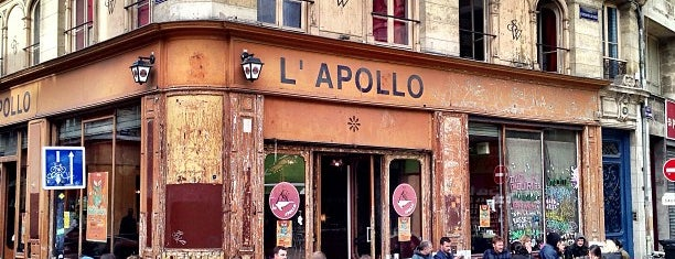 Apollo is one of Lieux qui ont plu à Anne-Charlotte.