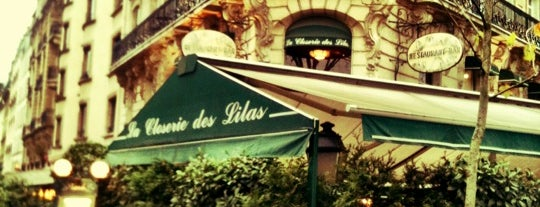La Closerie des Lilas is one of Paris.