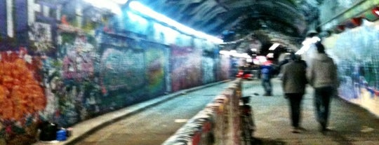 The Old Vic Tunnels is one of LDN ART GAL & MUSE.