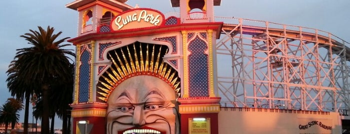 Luna Park Melbourne is one of Australia - Must do.