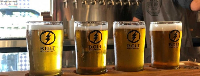 Bolt Brewery is one of Breweries or Bust 3.