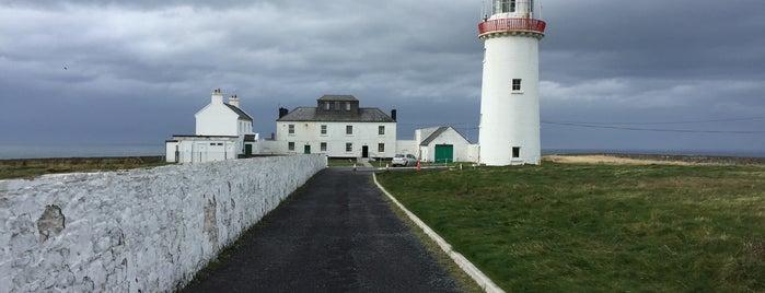 Loop Head Lighthouse is one of Europe 16.