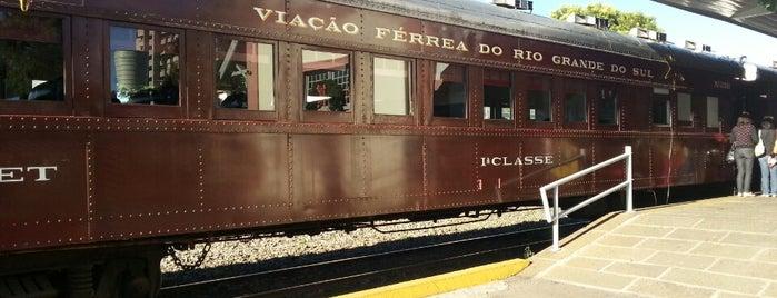 Trem Maria Fumaça is one of Orte, die Aluisio gefallen.