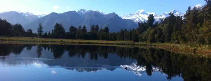 Lake Matheson is one of Новая Зеландия.