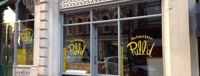 Pull'd is one of London - fast food.