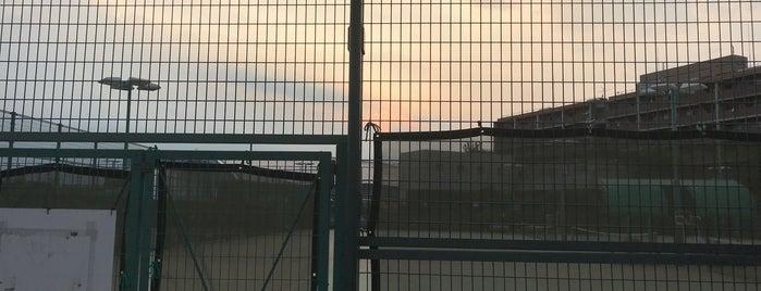大蔵第二運動場 テニスコート is one of HIDEKIN♪ 님이 저장한 장소.