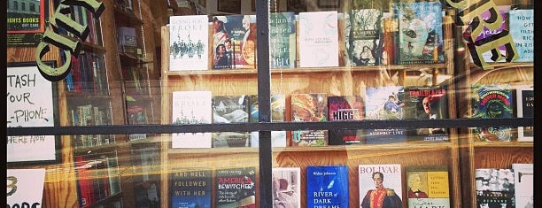 City Lights Bookstore is one of SanFran.