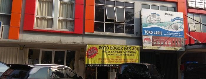 Soto Bogor Pak Ace is one of Bodetabek Simple Art of Eating.