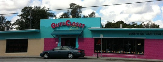 Out of the Closet is one of Gayborhood #FortLauderdale #WiltonManors.