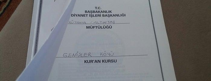 Genişler is one of Kütahya | Altıntaş İlçesi Köyleri.