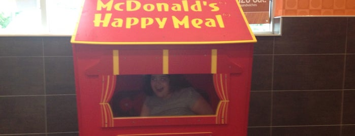 McDonald's is one of Places I have been to.