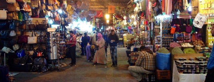 Souk El Khemis is one of Places to visit: Morocco.