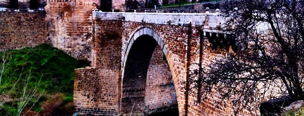 Puente de Alcántara is one of toledo.