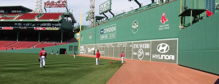 Green Monster is one of Lugares guardados de Carol.