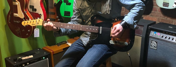 Emerald City Guitars is one of Seattle.