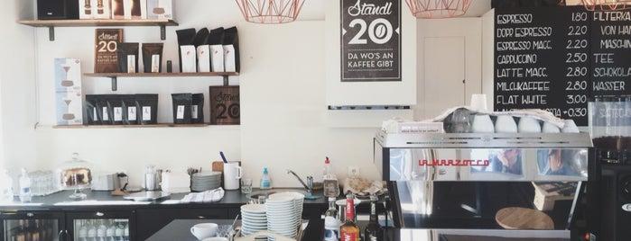 Standl 20 is one of Café und Tee 3.