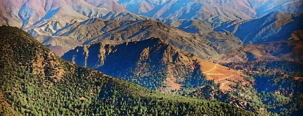 High Atlas Mountains is one of Marrakesh.