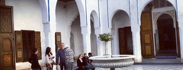 Palais Bahia is one of Marrakech.