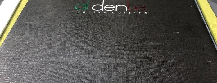 Al dente is one of Tempat yang Disukai Joao.