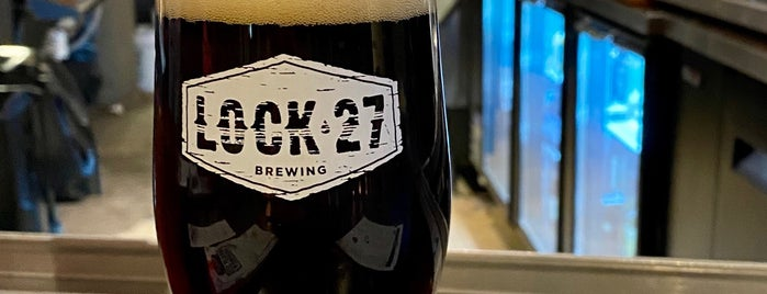 Lock 27 Brewing Company - Dayton Brewpub is one of สถานที่ที่ Tom ถูกใจ.