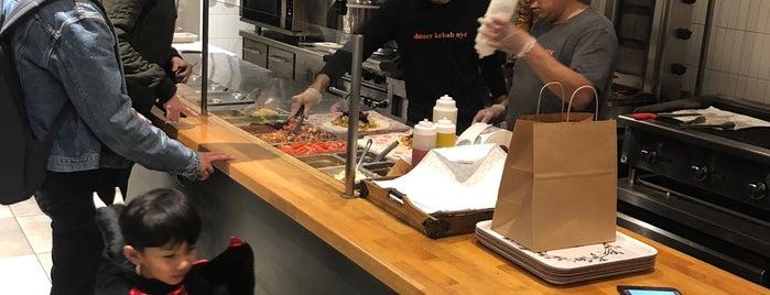 Doner Kebab NYC is one of Lugares favoritos de MtoM.