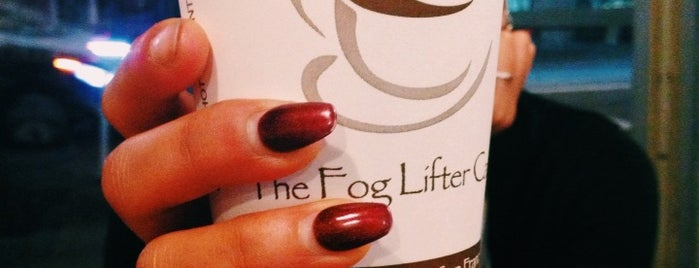 The Fog Lifter Café is one of Leticia's Liked Places.