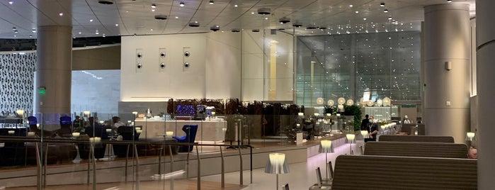 Al Mourjan Business Lounge is one of Orte, die Adrian gefallen.