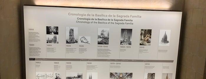 Museu Basilica de la Sagrada Familia is one of Barcelona, Andorra & Toulouse.