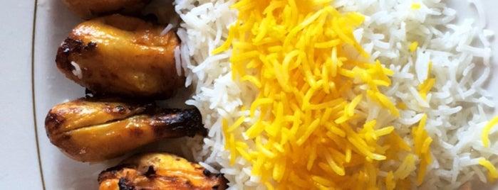 Sabzi Persian Chelow Kabab is one of Tempat yang Disukai Eric.