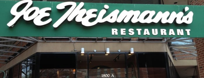Joe Theismann's Restaurant is one of Local Redskins Rally Bars.