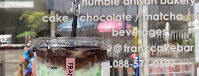 Frank Cake Bar is one of BKK_Tea/ Chocolate/ Juice Bar.