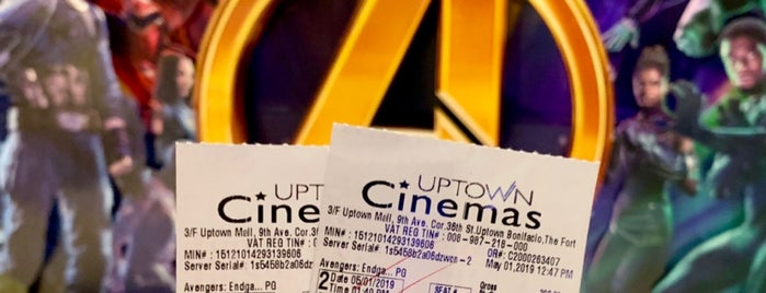 Uptown Cinemas is one of Spoiler babe. ❤️️.