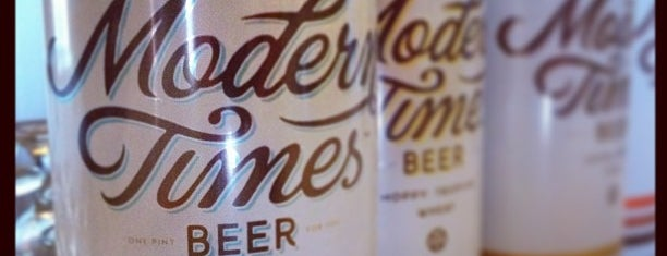 Modern Times Lomaland Fermentorium is one of Beer / Ratebeer's Top 100 Brewers [2019].