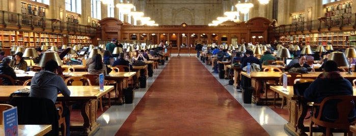 New York Public Library is one of Affinia Manhattan's Local Tips.