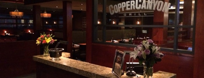Copper Canyon Grill is one of Locais salvos de Tim.