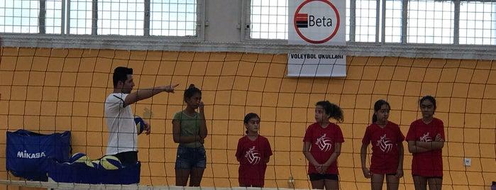 Izmir Fen Lisesi Kapali Spor Salonu is one of Umut'un Beğendiği Mekanlar.
