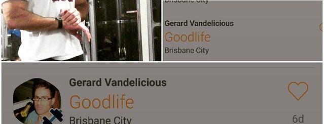 Goodlife Health Club is one of Lugares favoritos de Thiago.